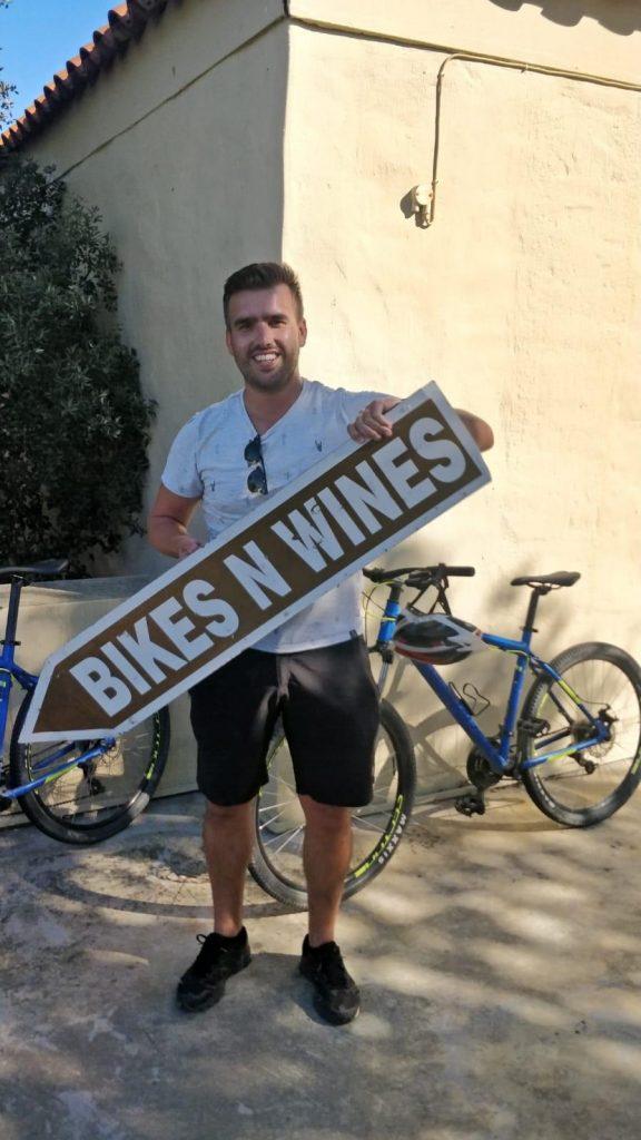 Bikes 'n Wines fietstocht
